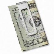 Tateossian Sterling Silver Money Clip